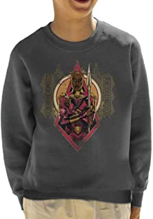 Marvel Black Panther Okoye Wakanda Forever Kid's Sweatshirt