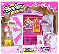 Shopkins Fashion Style Wardrobe Playset [並行輸入品]