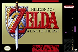 Pyramid America Legend of Zelda A Link to The Past SNES Video Game Gaming Cool Wall Decor Art Print Poster 12x18