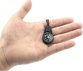 Sylvialuca Klein kompas met touw hanger Mini kompas kompas