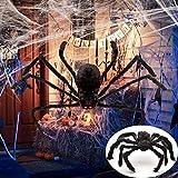 Decoraciones Halloween 1 Unidad De Decoración Colgante De Halloween, Casa De Araña Gigante, Patio Al Aire Libre Embrujado, Decoración De Araña De Halloween, 125 Cm