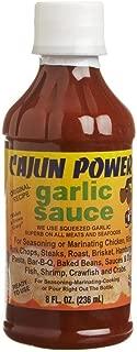 Cajun Power, Sauce Garlic, 8-Ounce (12 Pack)