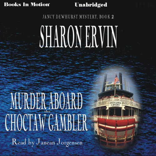 Murder Aboard the Choctaw Gambler audiobook cover art