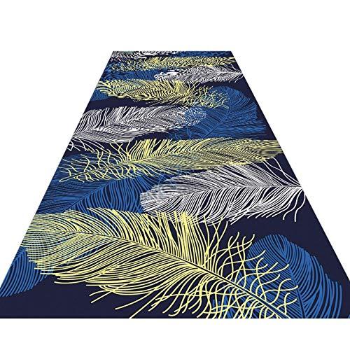 Alfombra premium 3D corredor pasillo pasillo pasillo antideslizante, puerta frontal para cocina,...