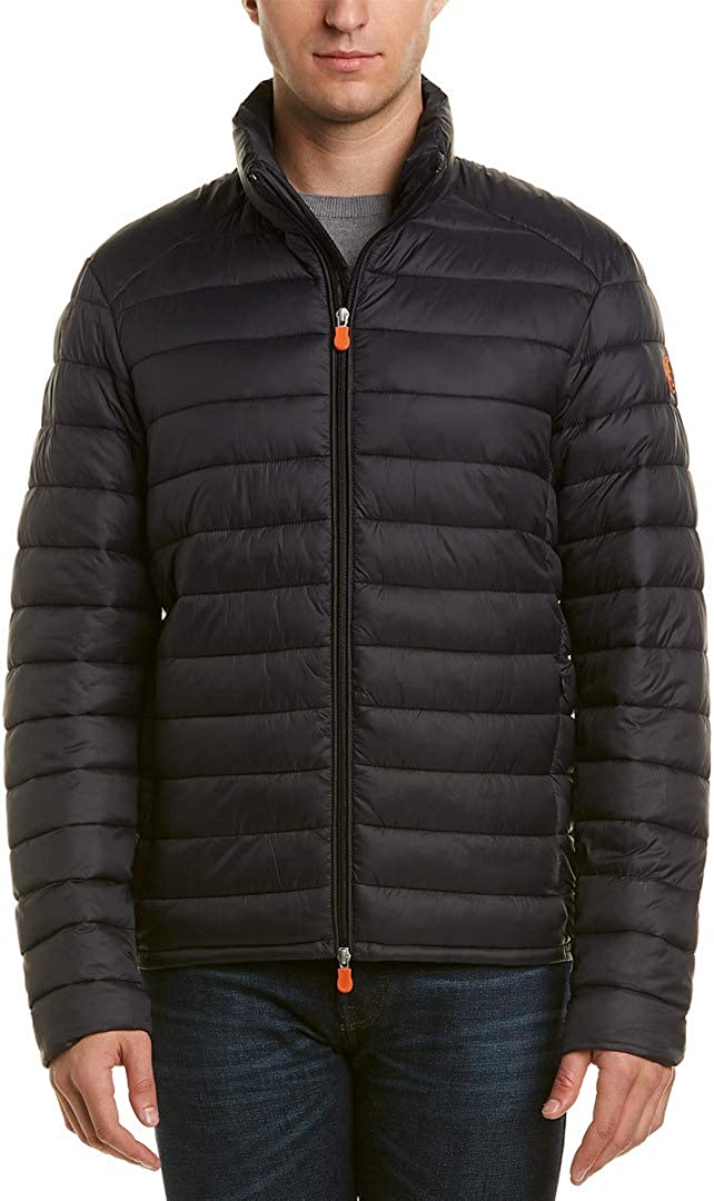 Save The Duck Men's Basic Non Hooded Jacket