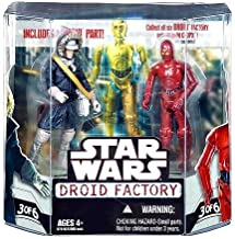 Star Wars Saga 2008 Build-A-Droid Factory Action Figure 2-Pack Han Solo (Hoth Gear) and R-3PO