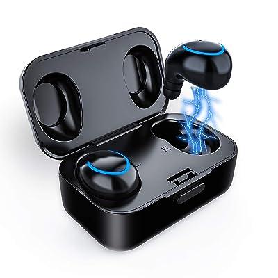 Bluetooth True Wireless Earbuds,Waterproof Swea...