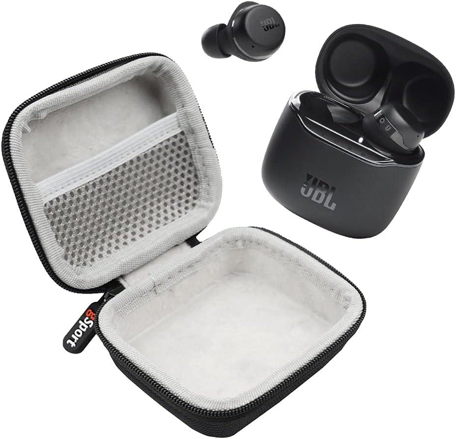 JBL Tour PRO+ TWS True Wireless in-Ear Headphone Bundle with gSport Deluxe Hardshell Case (Black)