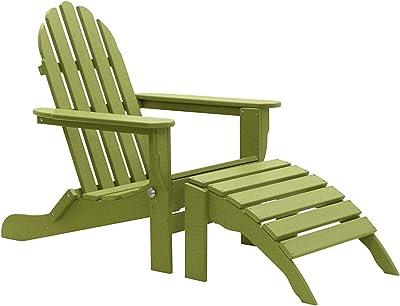 International Concepts Green Adirondack Table