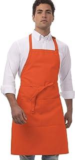 سرآشپز پیش بند قصابی یونیسکس کار می کند ، طول 34 اینچ در عرض 24 اینچ
