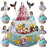 Dawei 34pcs Sofia the First Cupcake...