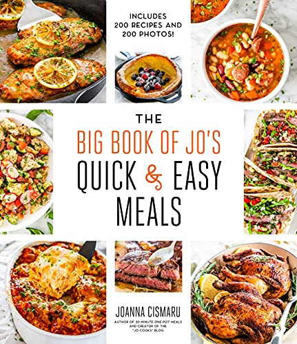 The Big Book of Jo's Quick and Easy Meals-Includes 200 recipes and 200 photos!