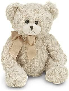 Bearington Baby Huggles Creamy White Plush Stuffed Animal Teddy Bear, 10 inches