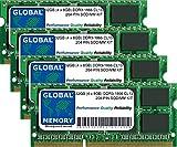 Memoria RAM DDR3 de 32 GB (4 x 8 GB) PC3-14900 de 204 Pines SODIMM para Intel iMac de 27' Retina 5K (2015)