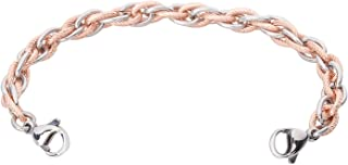 Inter-Mesh PVD Color & Silver Women's Medical Alert ID Interchangeable Replacement Bracelet