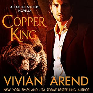 Copper King audiobook cover art