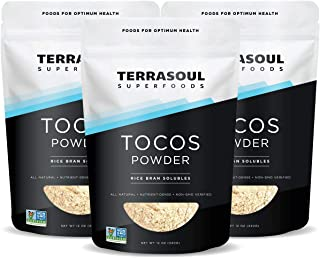 Terrasoul Superfoods TOCOS (Rice Bran Solubles - 36 ounces) - Organically Grown