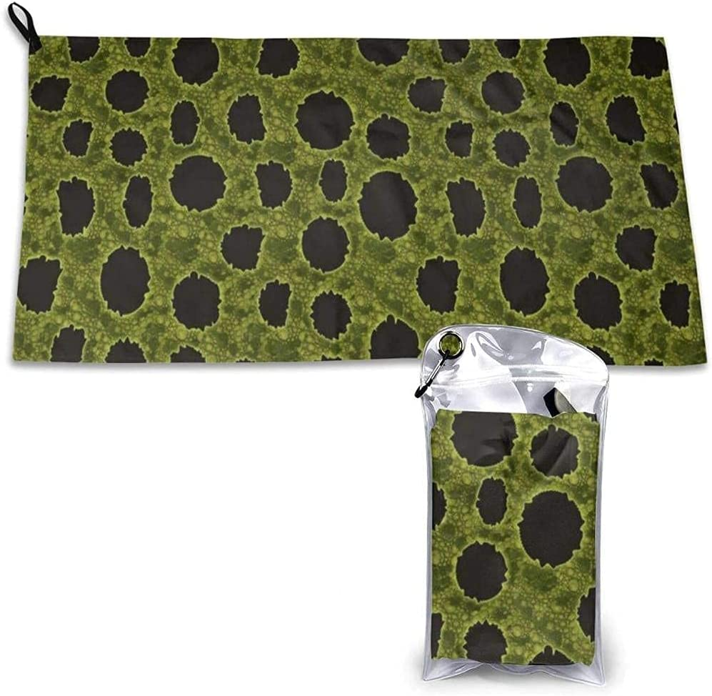 Quick Dry Don't miss Fresno Mall the campaign Microfiber Beach Towel Skin Frog Leopard Light Pattern