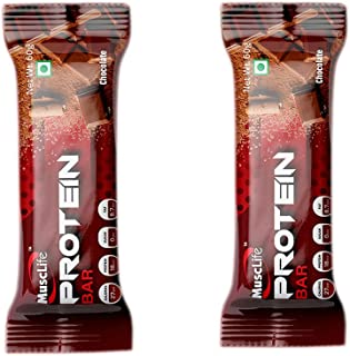 Musclife Protein Bar-60g(Pack of 2) (Chocolate)