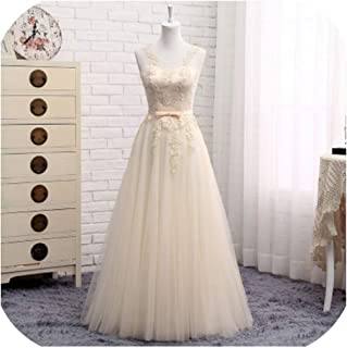 Bridesmaid Dresses Long Sleeveless Formal Prom Party Dresses Wedding Dress
