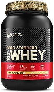 comprar comparacion Optimum Nutrition ON Gold Standard 100% Whey Proteína en Polvo Suplementos Deportivos, Glutamina y Aminoacidos, BCAA, Crem...