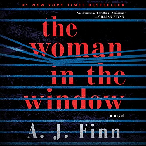 The Woman in the Window audiobook cover art