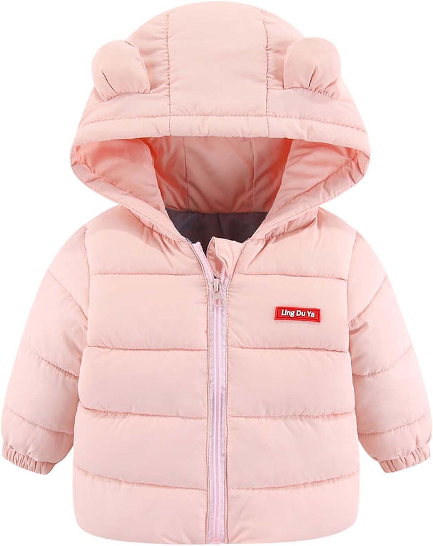 Newborn Boys Arlington Mall Girls Toddler Baby Winter online shop Hooded Down Warm Cotton J