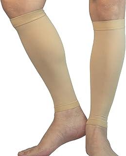 آستین فشرده سازی گوساله MGANG ، 1 جفت ، جوراب های فشرده کننده پا پشتیبانی از ساق پا قوی برای مردان ، بهترین راه برای تسکین درد در ساق پا ، آتل شین ، دویدن ، دوچرخه سواری ، مسافرت ، پرستاری ، گردش خون