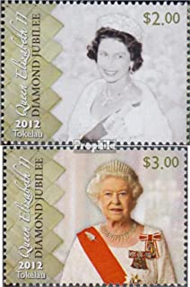 Tokelau 426-427 (complete.issue.) 2012 throne Queen Elizabeth I (Stamps for collectors)
