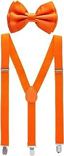 Man of Men - Bowtie & Suspenders Sets - Solid Colors