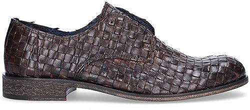 JACKAL JACKAL Homme JL46014 Marron Cuir Chaussures à Lacets