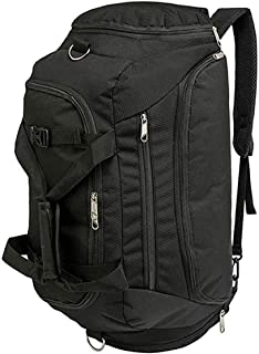3-Way Gym Sports Duffle Bag Backpack for Men/Women Waterproof Travel Duffel Bag with Shoe Compartment 40L