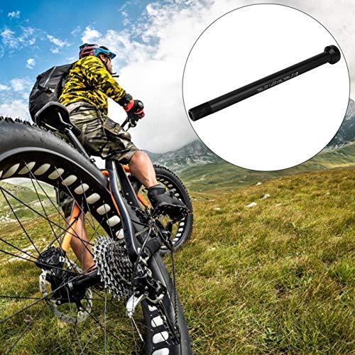Adaptador para Bicicleta Tralier, Remolque de Eje pasante pequeño y Ultraligero, fácil de Instalar para Bicicleta
