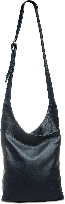 CASPAR TL764 Damen Umhängetasche Messenger Bag aus feinstem Nappaleder Nappaleder Nappaleder B06ZZNF19Z  Großer Räumungsverkauf 9b1f2e