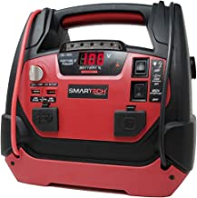 Smartech 950 Amp Portable Power Station | Automotive Jump Starter - 20 Starts, 1 Charge | Tire Inflator, Air Compressor - Inflate 5 Tires on 1 Charge | Power Home Appliances, Emergency Auto, Camping