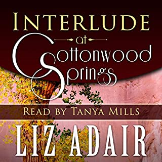 Interlude at Cottonwood Springs audiobook cover art