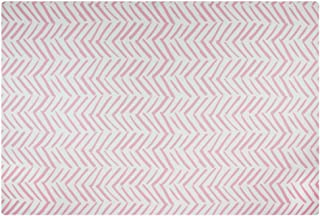 Baby Play Mat | One-Piece Reversible Foam Floor Mat | Large | Eco-Friendly | Extra Soft | Non-Toxic | Baby | Toddlers | Kids (Pink, Large)