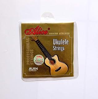 Mike ukulele with bag and strap picks (Ukulele strings Alice, clear)