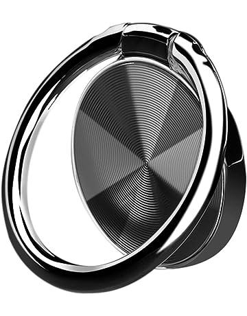 691052ec96 スマホリング ホールドリング 薄型 おしゃれ 指輪リング スタンド機能 落下防止 車載ホルダー 360°回転