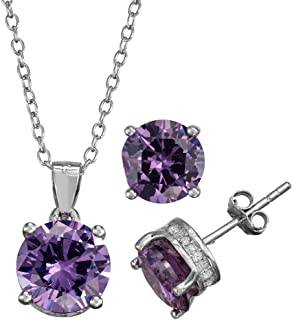 Best sterling silver amethyst necklace Reviews