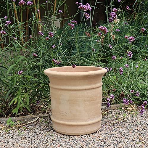 Kreta Keramik | Macetero de terracota resistente a las heladas, para plantas de interior y exterior,...