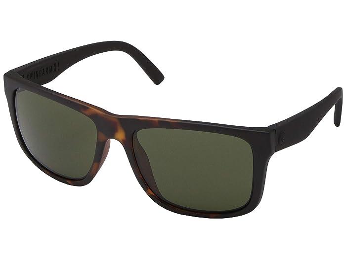 Electric Eyewear Swingarm XL (Tort Burst/Ohm Grey) Athletic Performance Sport Sunglasses