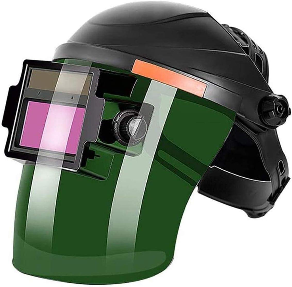 WYKDL Vidrios de Soldadura Oscuros automáticos Gafas Protectores Especiales para soldadores, Soldadura de Arcos de argón, Anti-deslumbramiento y Gafas Anti-Ojo