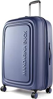 Mandarina Duck - LOGODUCK + Trolley Large EXP / Estate Blue, Luggage- Suitcase Unisex-Adult, Estate Blue, 75x49x31 cm - P1...