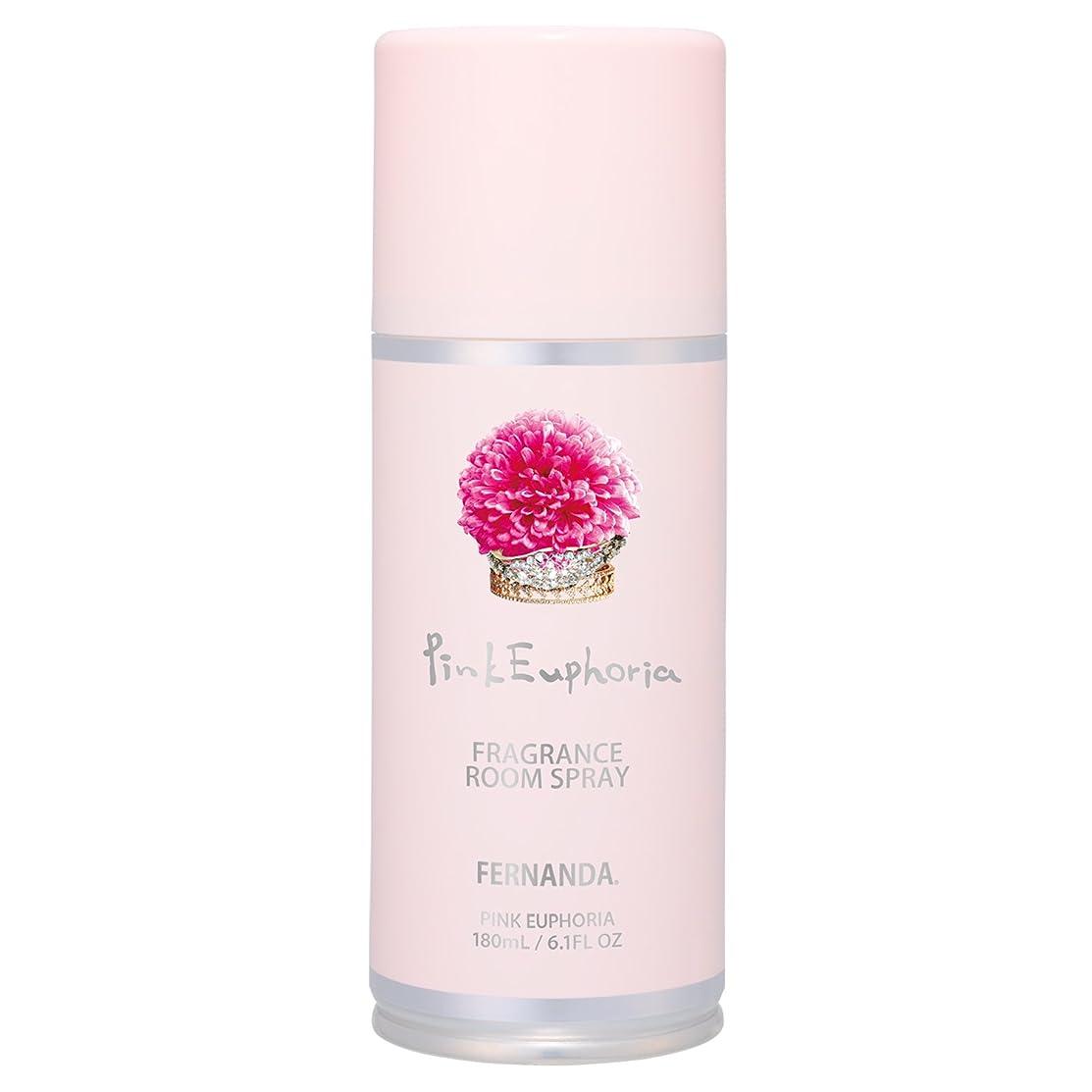 知らせるアレルギー性テキストFERNANDA(フェルナンダ) Room Spray Pink Euphoria(ルームスプレー ピンクエウフォリア)
