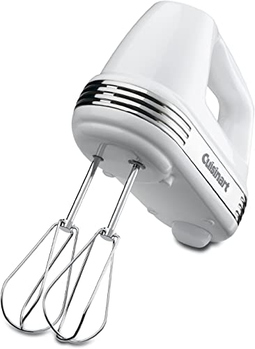 discount Cuisinart HM70FR HM-70FR Power Advantage 7-Speed high quality Hand Mixer, Stainless and White (Renewed), sale 6 online sale