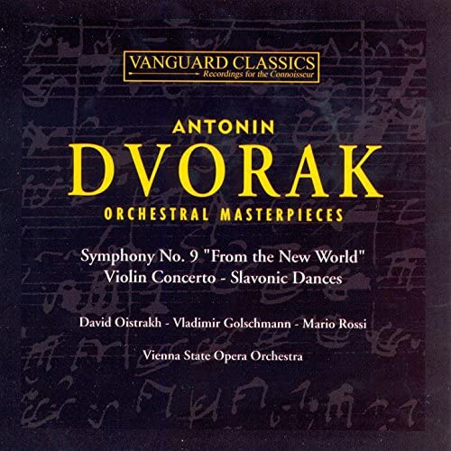 David Oistrakh, State Symphony Orchestra of Russia & Vienna State Opera Orchestra