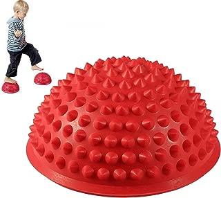 MT-Sport 半球 バランスボール 2個セット 大人から子供まで フット ヘルス ボール ミスター アルマジロ バランス トレーニング 【空気入れおまけ付】