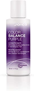 Joico Color Balance Purple Conditioner | Eliminate Brassy and Yellow tones | Repair and Protect Color-Treated Hair | For C...