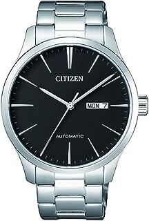 ساعة ميكانيكال للرجال من سيتيزن، بعرض انالوج وسوار من الستانلس ستيل - NH8350-83E